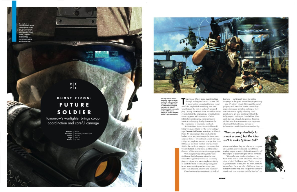 Issue 231 Ghost Recon: Future Soldier