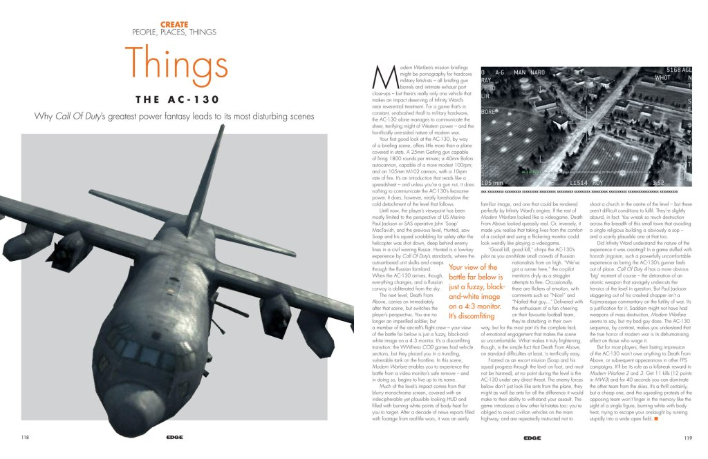 Issue 244 Call Of Duty AC-130