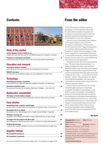Remediation Solutions 12 editorial