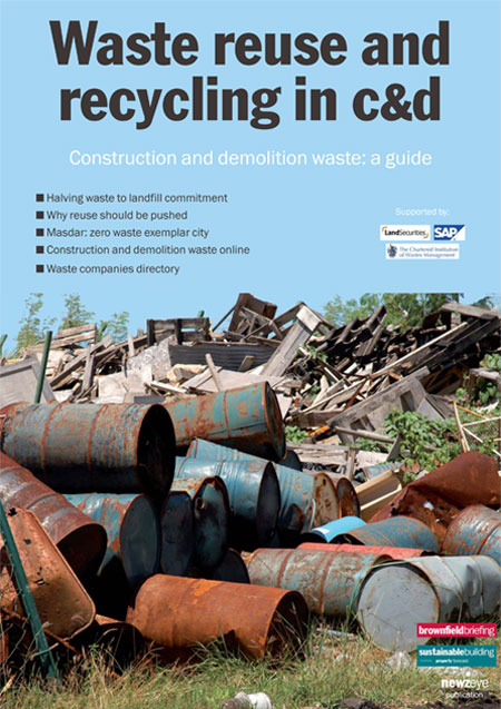 Waste guide cover