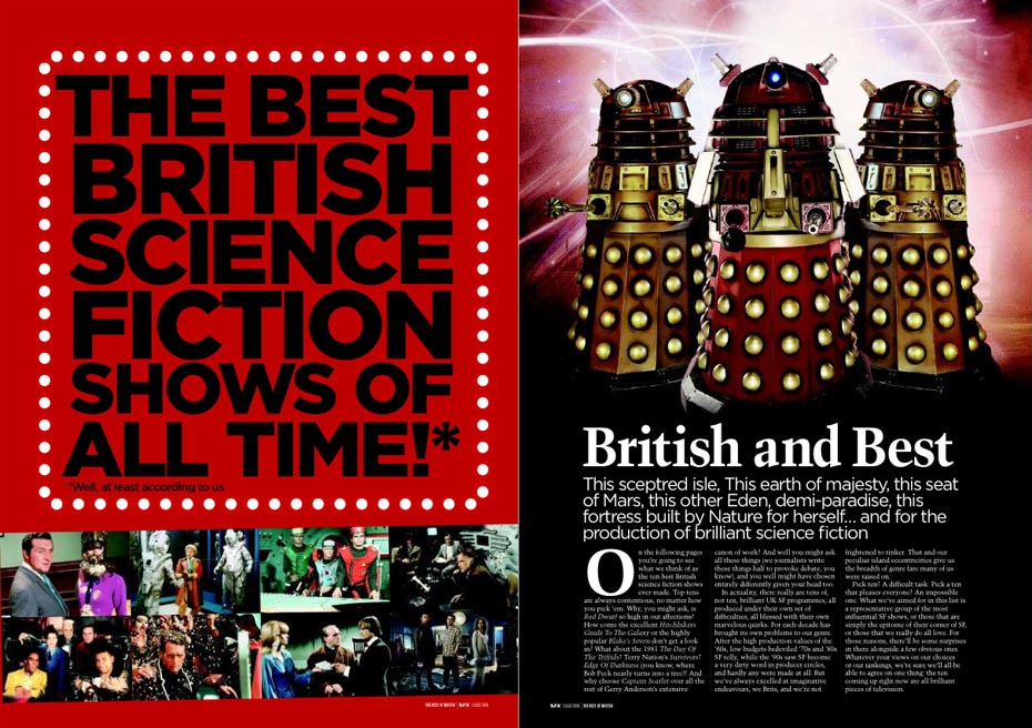 SFX Special 49 Greatest British Sci-Fi Shows