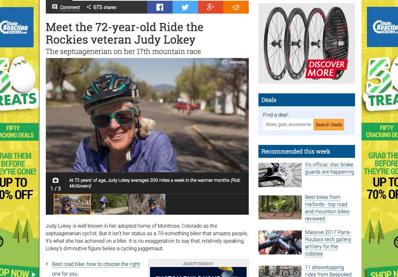 BikeRadar feature