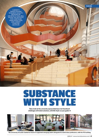 University Business Issue_Substance with Style 1
